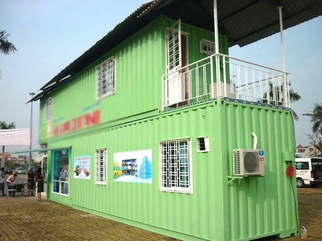 Macro and fully furnished container house prices 100-200 million in Vietnam