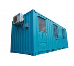 Office container 20 feet with toilet